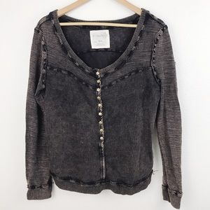 Free People We The Free Thermal Pullover Top